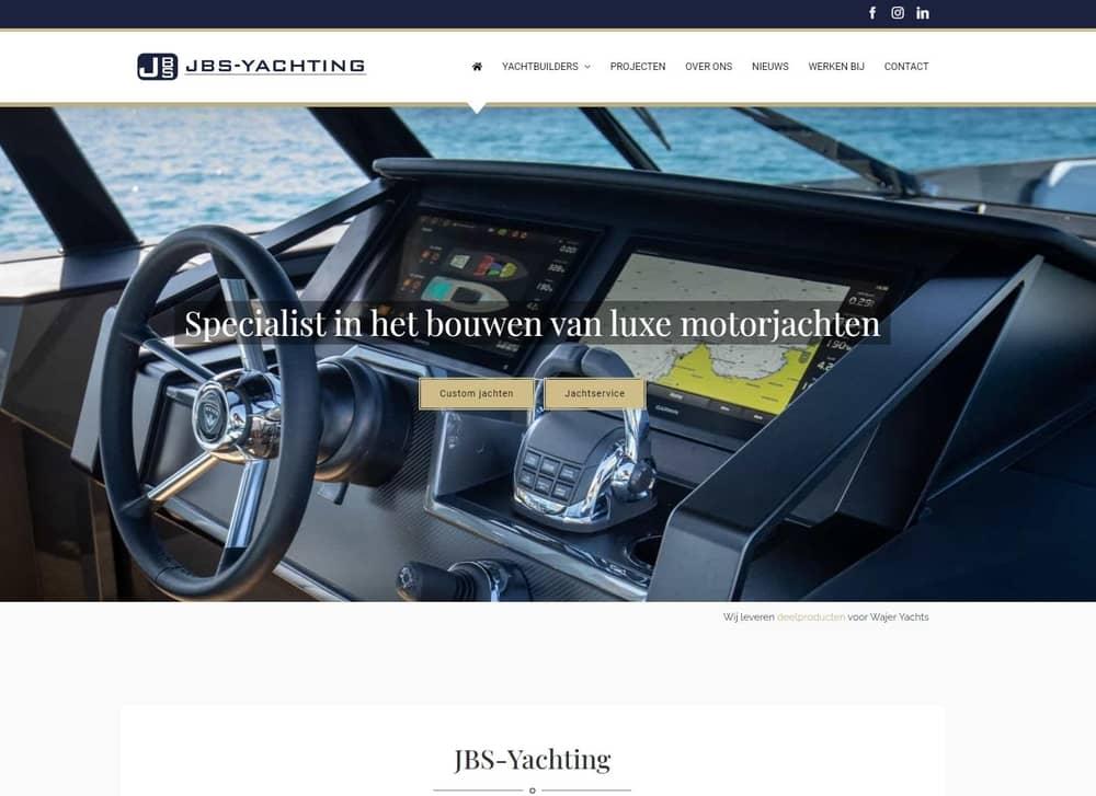 3 nieuwe websites - JBS Yachting
