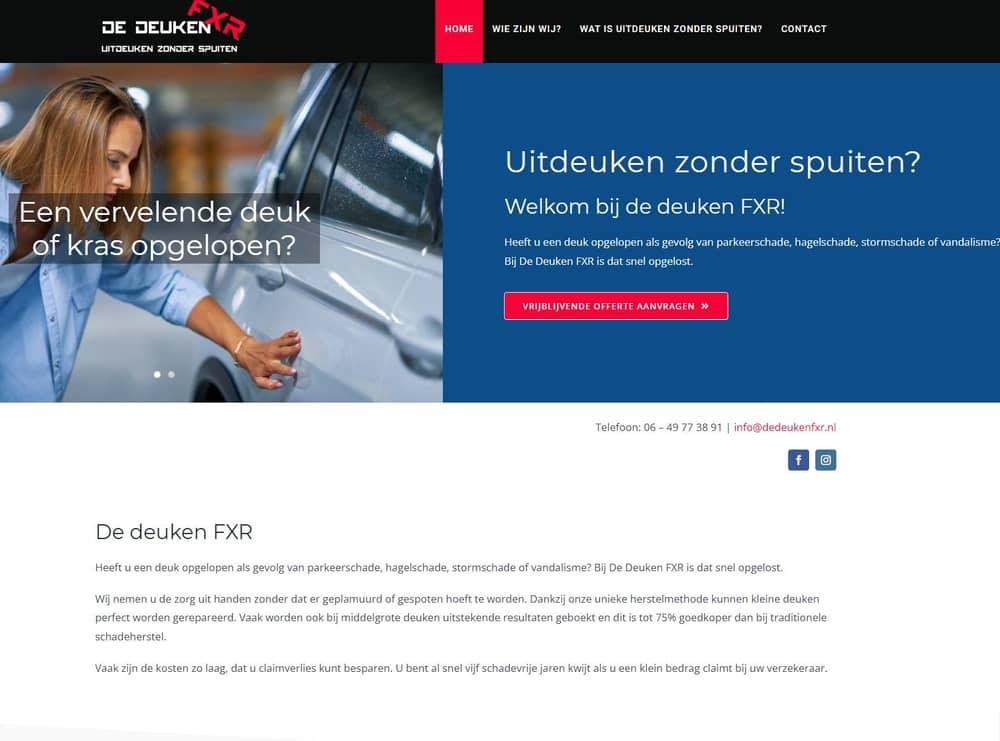 3 nieuwe websites - de Deuken FXR